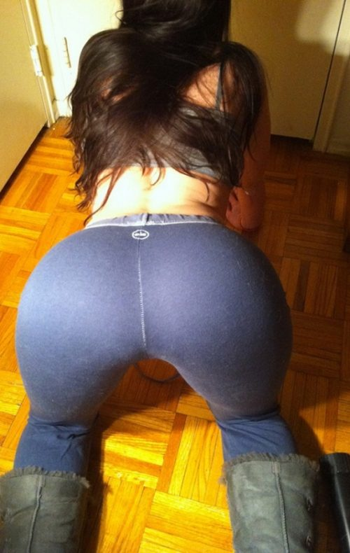 Best Big Booties In Yoga Pants