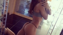 You have a great future behind you (SHE SQUATS 22 Photos)
